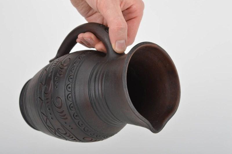 Кувшин для воды глиняный