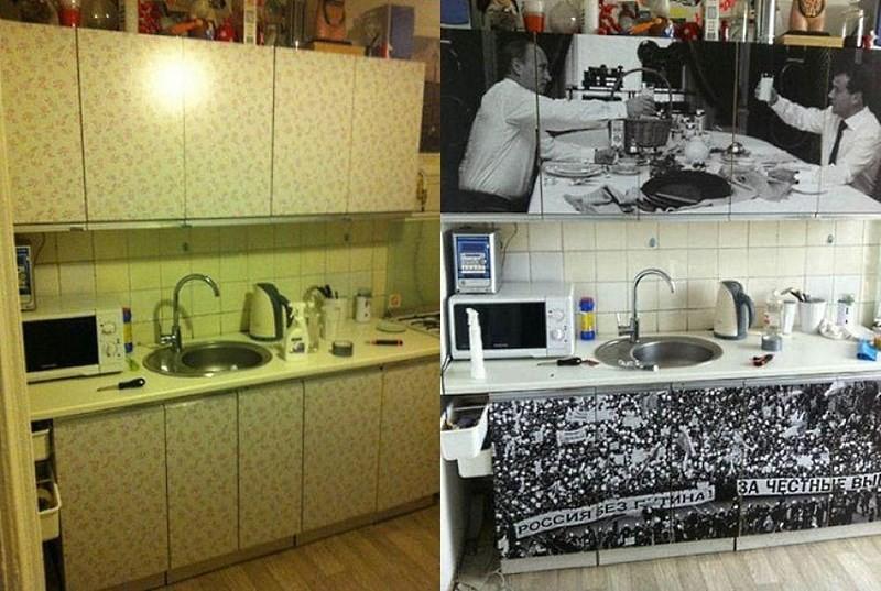 Как своими руками обновить фасады кухни