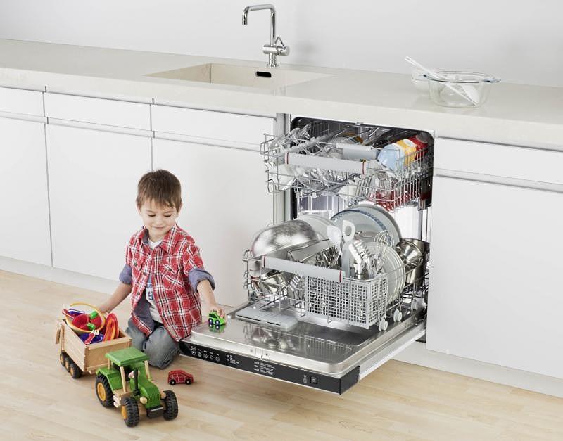 Посудомоечная машина в доме