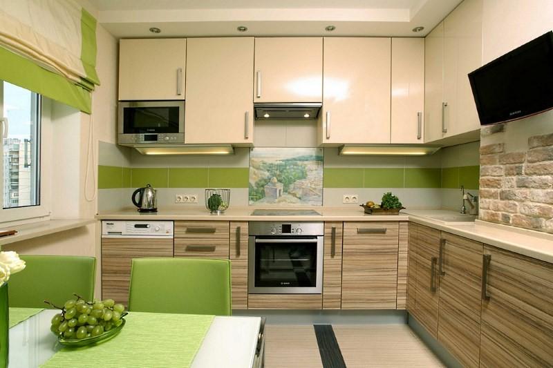Эко стиль в интерьере кухни