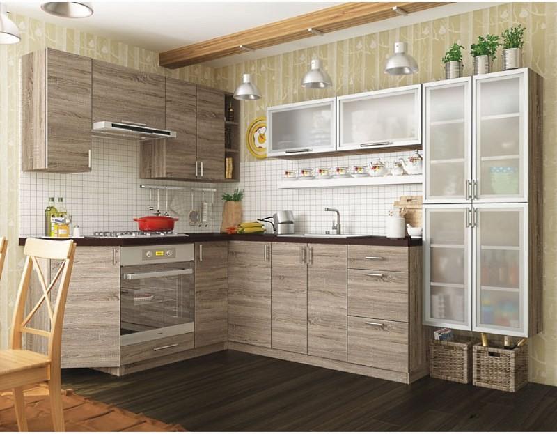 los elementos individuales de muebles de cocina para una