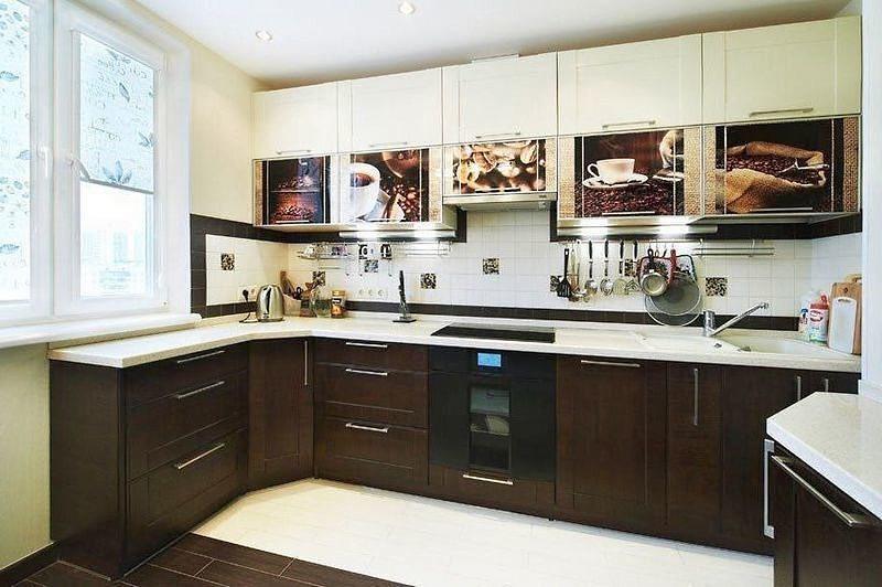 Кухня с обновленными фасадами