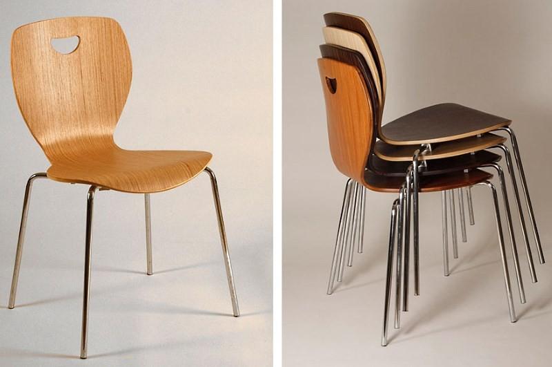 Форма штабелируемых стульев