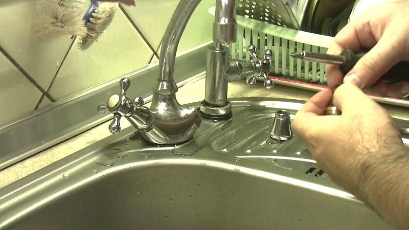 Как поменять прокладку в смесителе