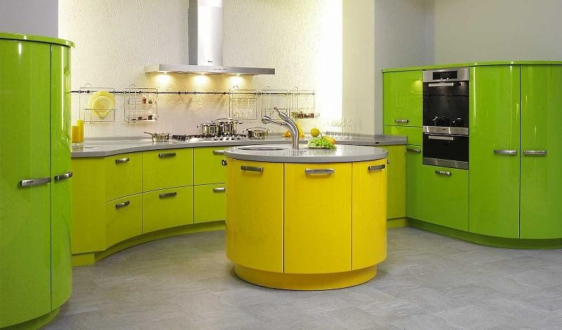 Кухня из отдельных модулей