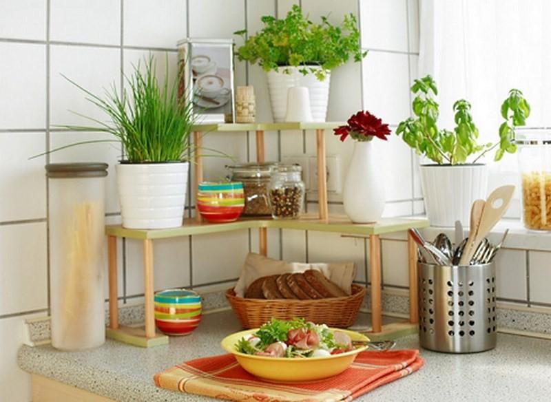 Настольная этажерка для кухни