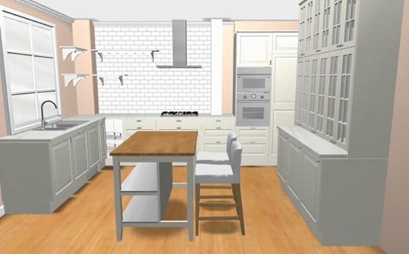 Проект в планировщике кухни ИКЕА