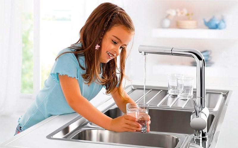 Безопасная вода из крана