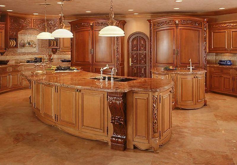 Ретро кухня в викторианском стиле