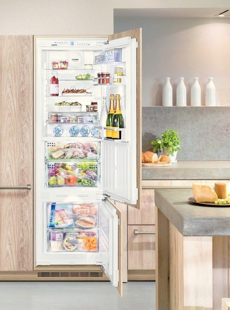 Встроенный холодильник в хрущевке