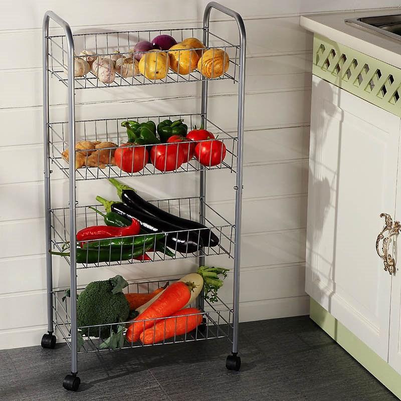 Передвижная этажерка для кухни
