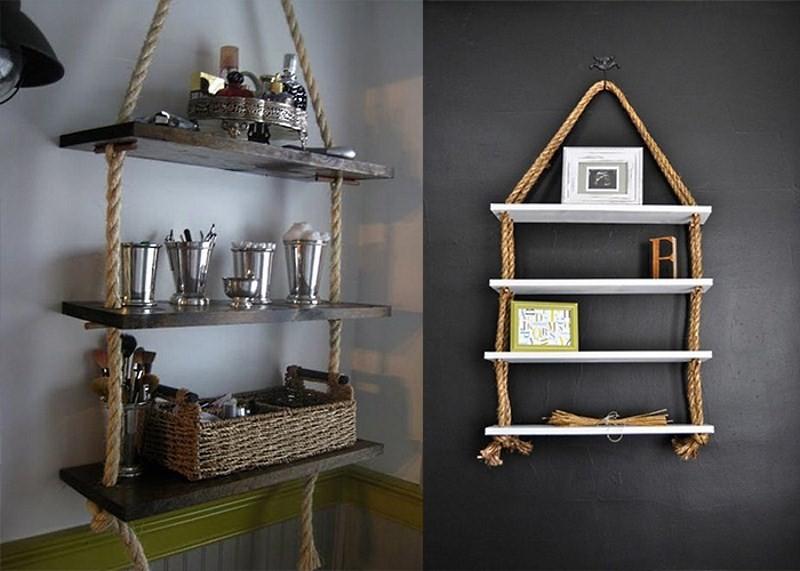 Подвесные этажерки для кухни