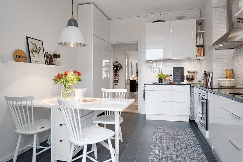 дизайн кухни 14 кв м