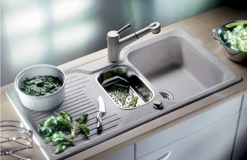 композитная кухонная мойка