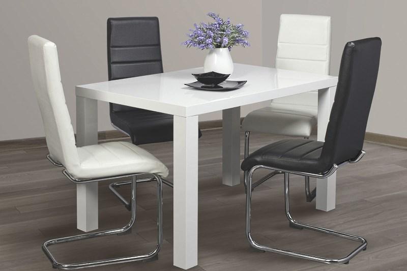 Белый стол