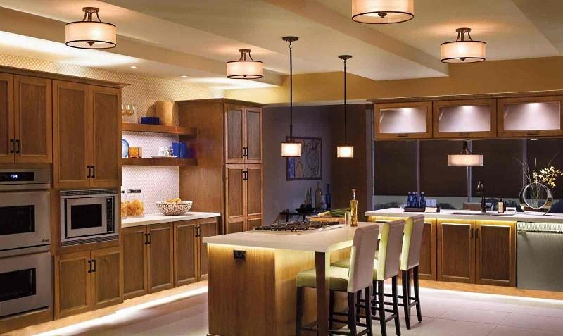 Свет в дизайне кухни