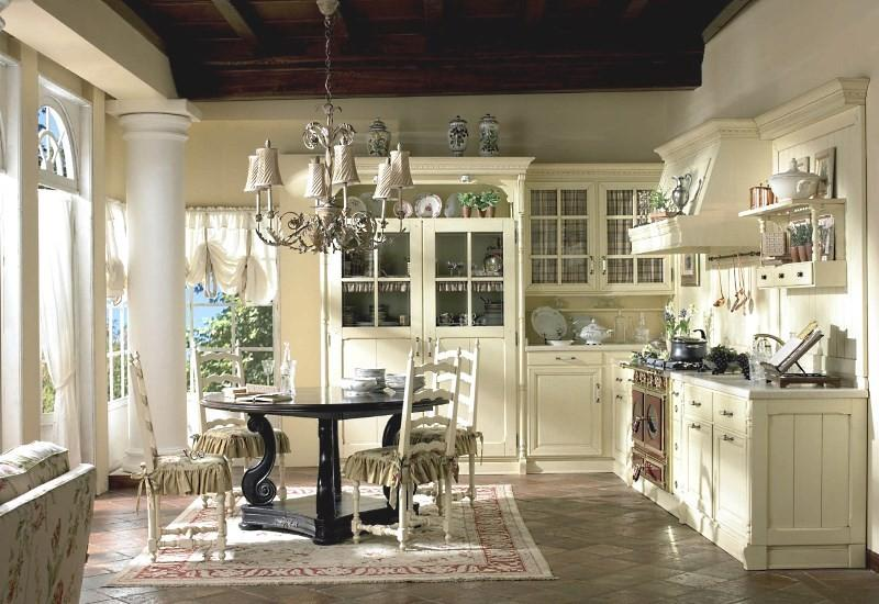 Винтажный стиль кухни