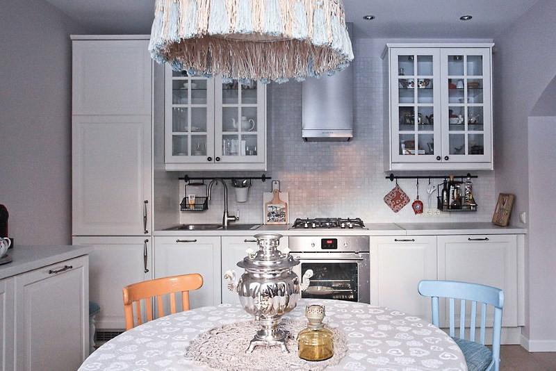 кухня будбин белая
