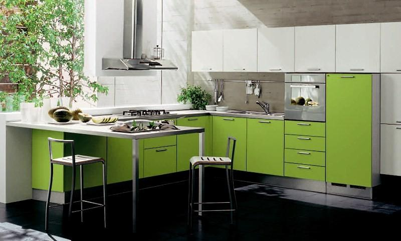 Дизайн проект угловой кухни