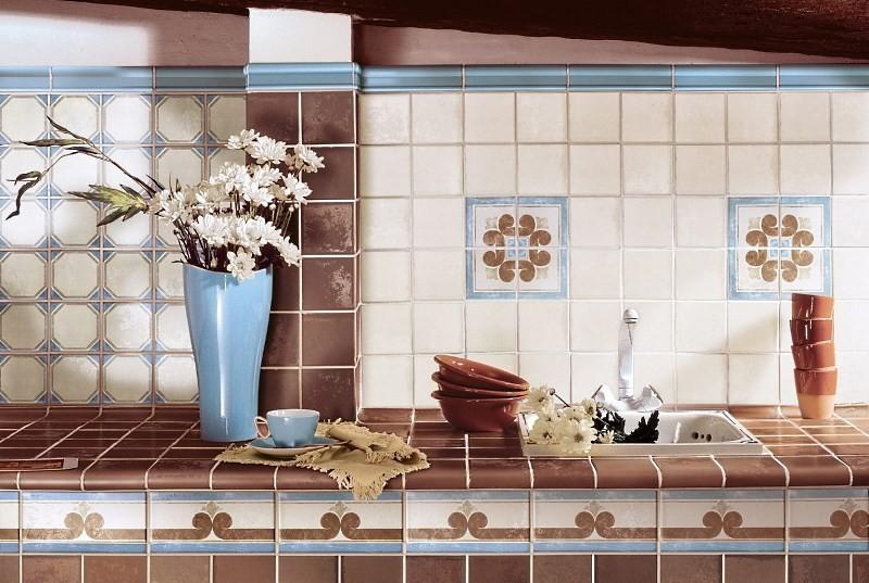 Итальянская керамическая плитка для кухни
