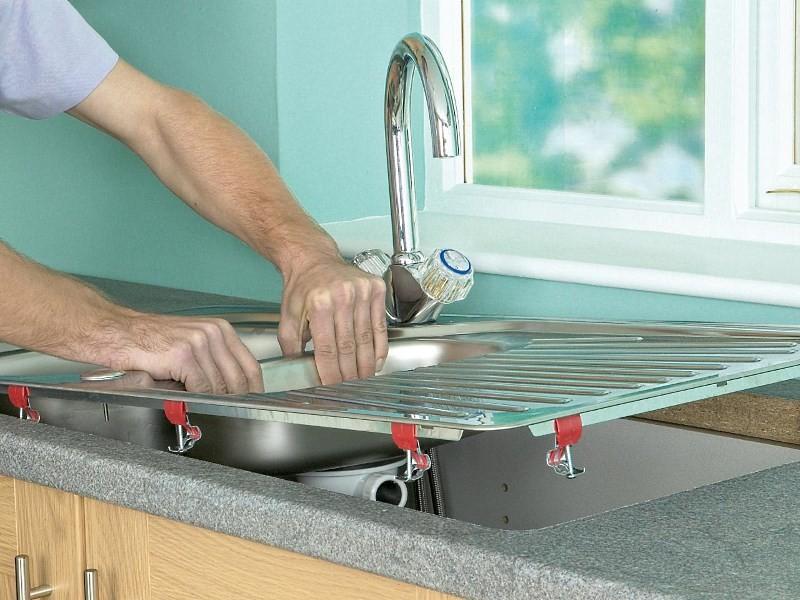 Кухонные мойки врезные в столешницу
