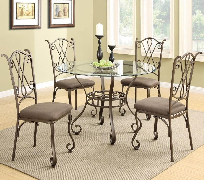 Металлический кухонный стол