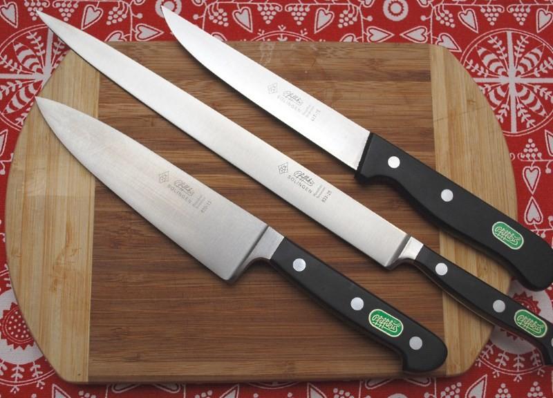 Немецкие кухонные ножи