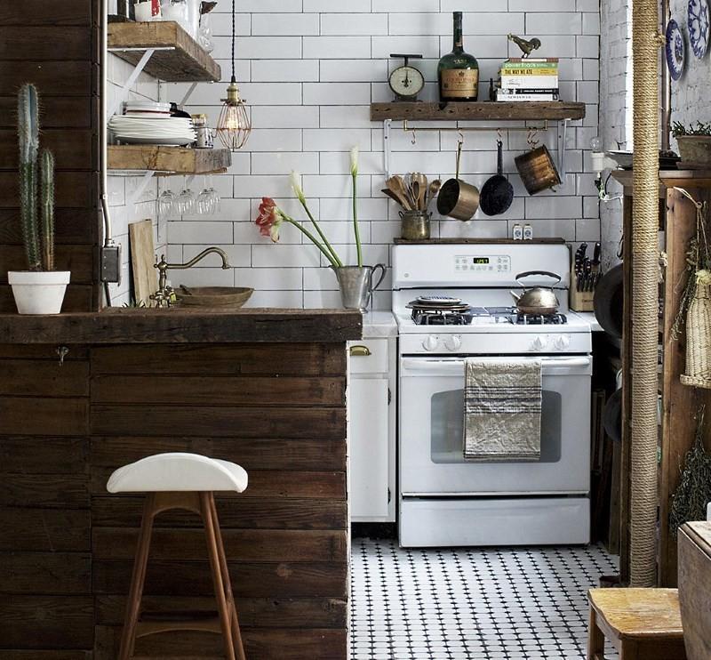 Отделка кухни в брежневке