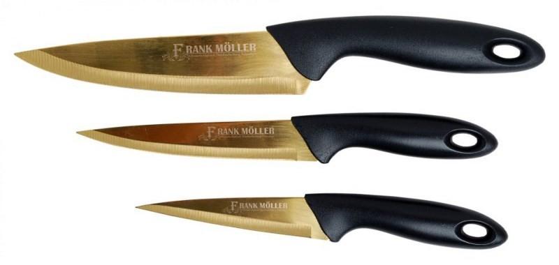Титановые немецкие кухонные ножи