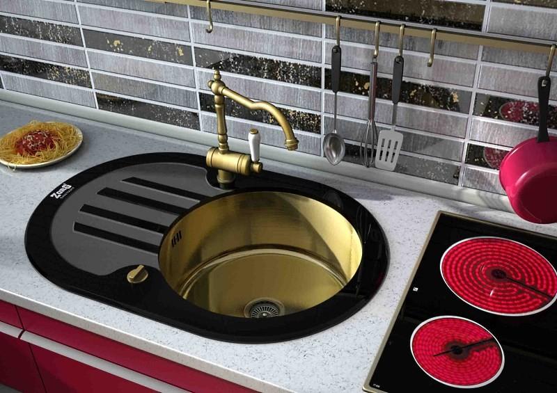 Врезная кухонная мойка