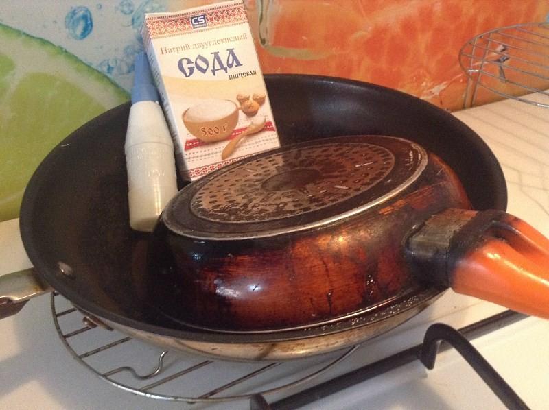 Чистка сковородки в домашних условиях от нагара 826