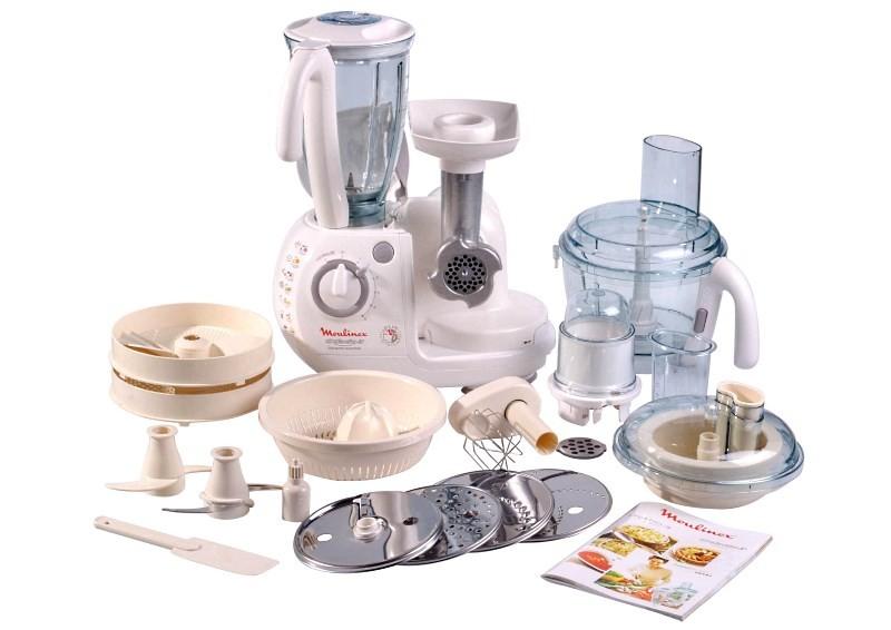 функции и насадки кухонного комбайна