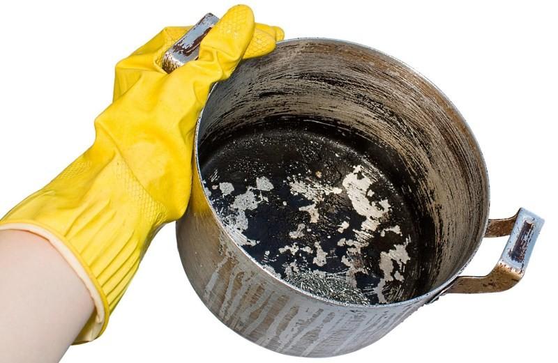 Как очистить нагар
