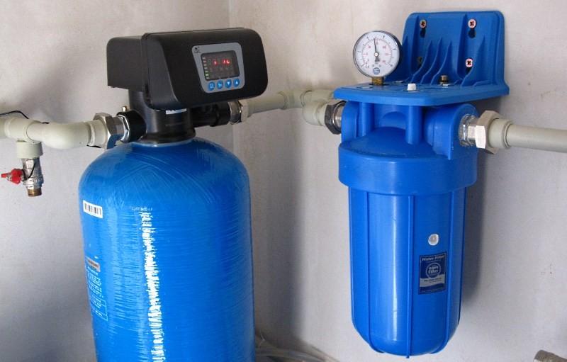 Магистральный фильтр для обезжелезивания воды
