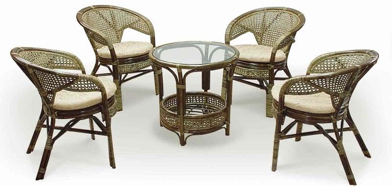 Плетеные стулья для кухни
