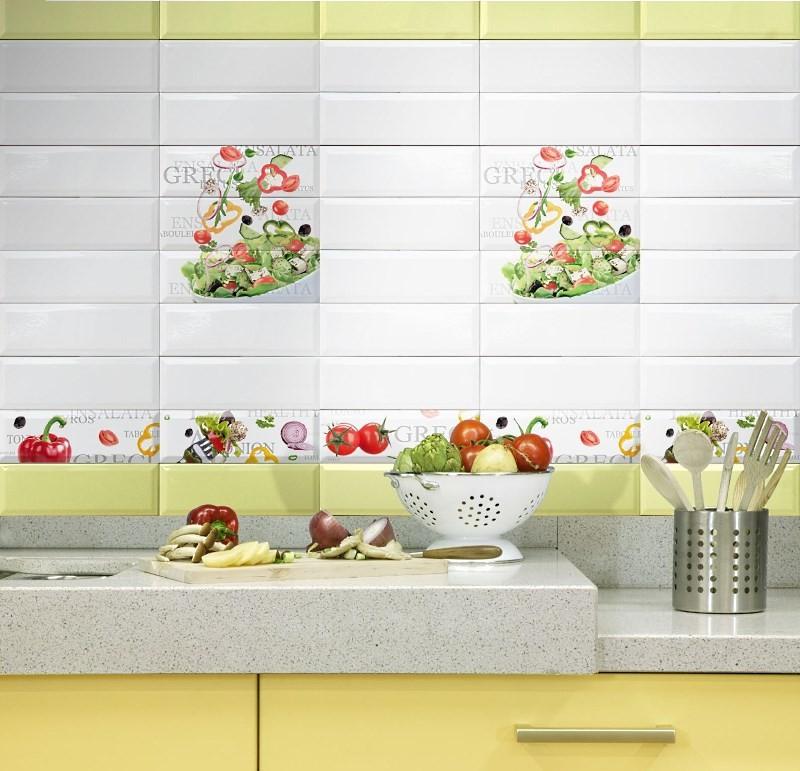 красивая облицовочная плитка на кухне