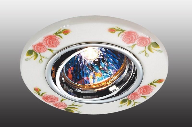 Поворотный точечный светильник для кухни
