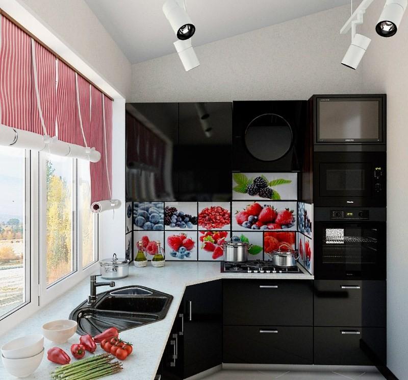 Техника на кухне 5 кв м