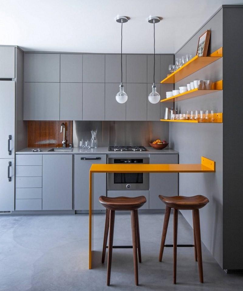 Дизайн маленькой кухни: фото идеи