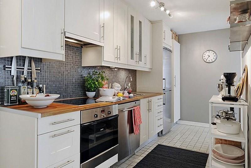 интерьер на небольшой кухне