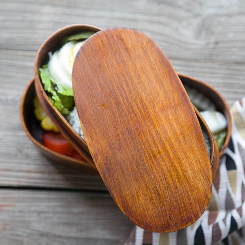 контейнер для еды из дерева