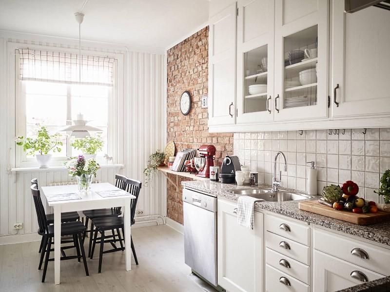 красиво оформленная кухня