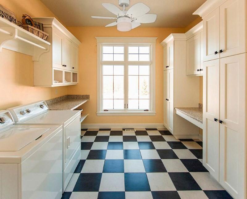 люстра вентилятор на кухне