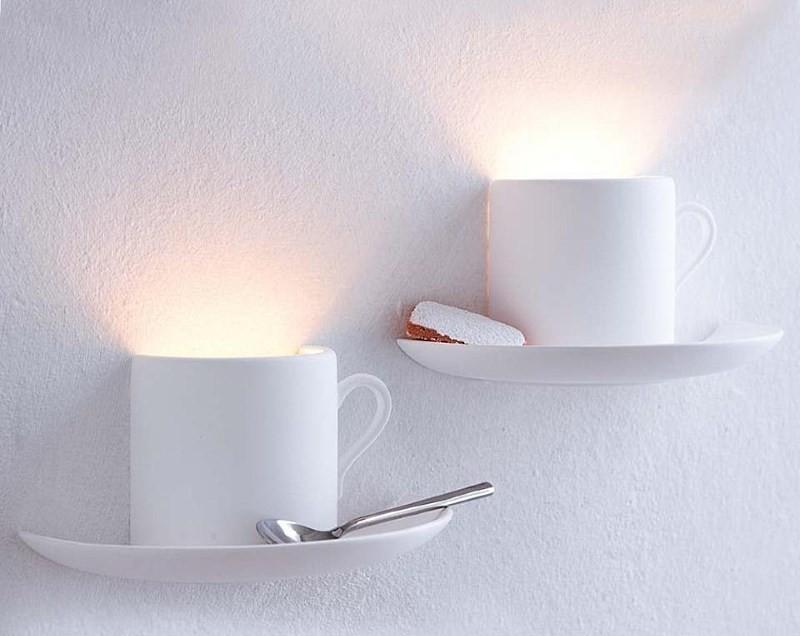 Настенные светильники для кухни