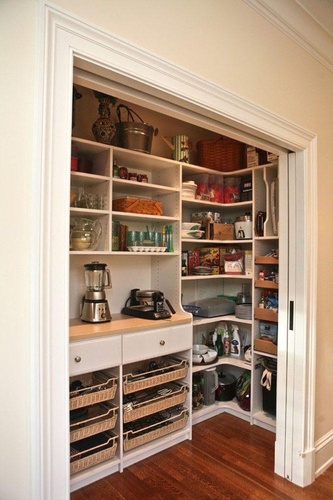 встроенный шкаф кладовка