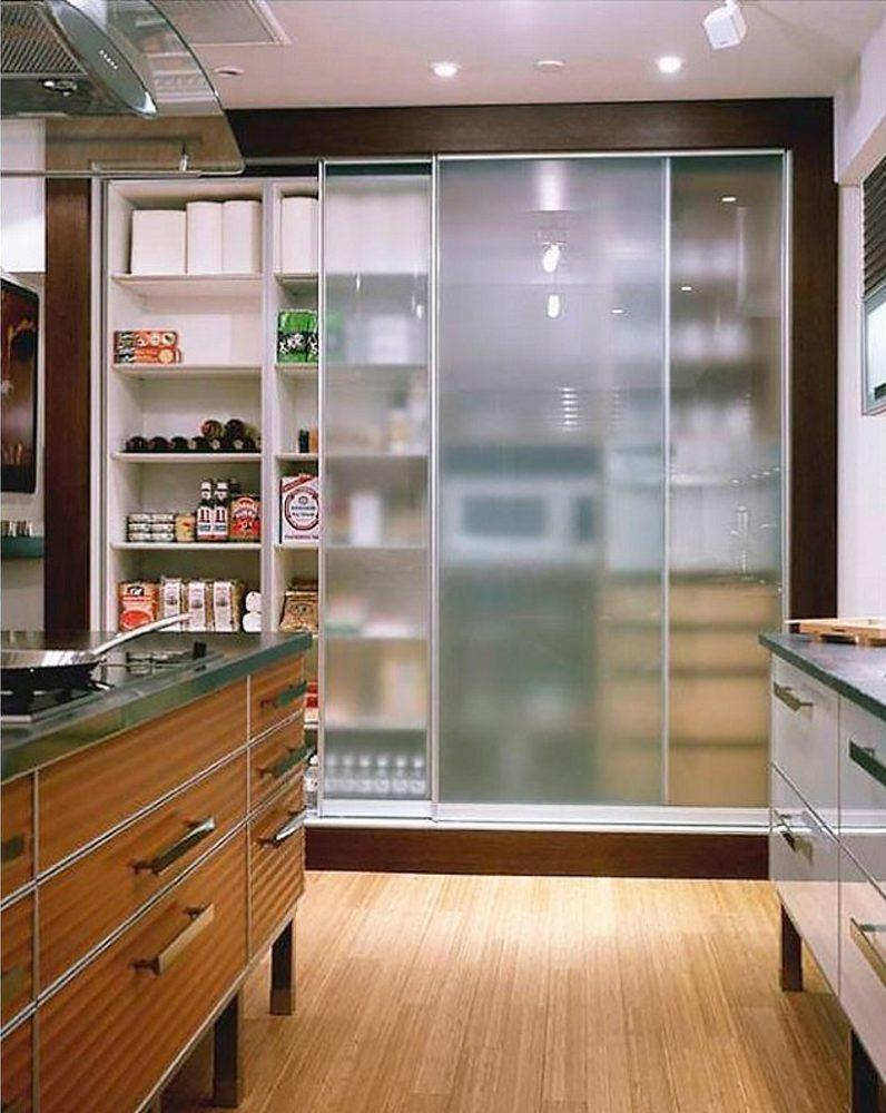 Встроенные шкафы на кухне своими руками 49