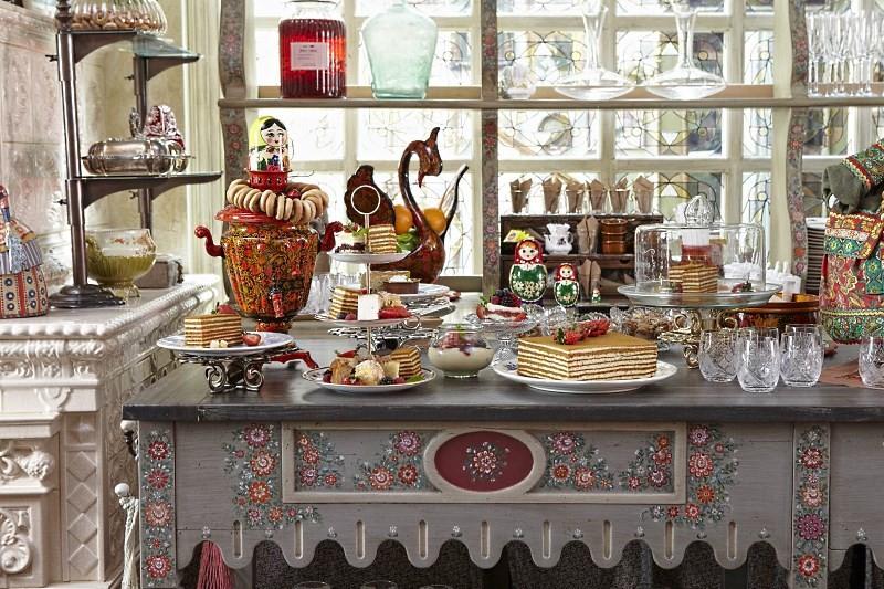 Аксессуары для кухни в русском стиле