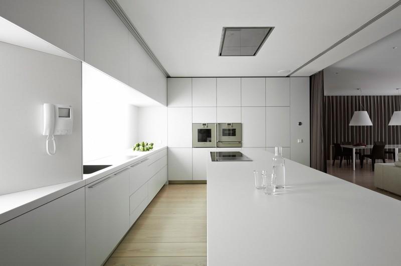 Кухня в стиле минимализм дизайн описание 100 фото с