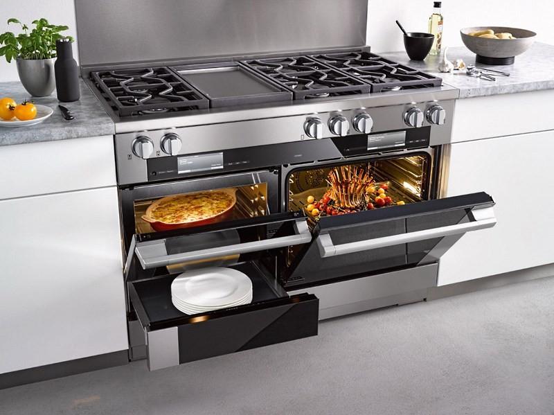 Газовая плита с электродуховкой: варианты исполнения и особенности выбора.