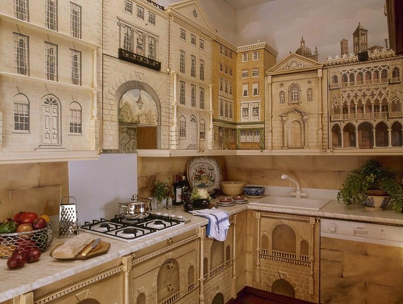 Интересный кухонный гарнитур своими руками